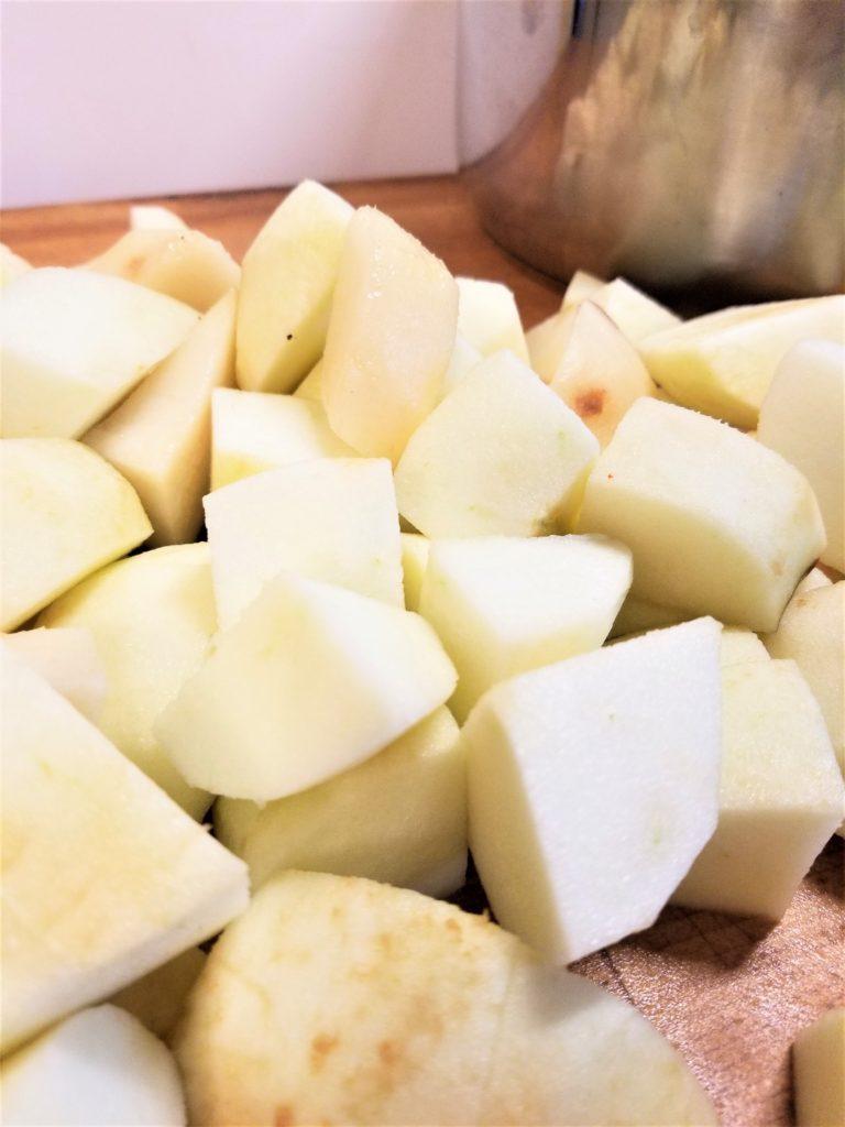 instant pot no sugar added applesauce