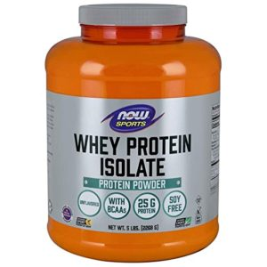 now foods whey protein isolate, unflavored