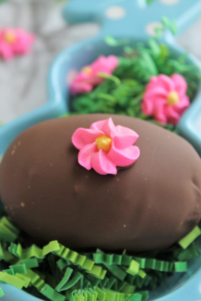 chocolate dipped easter eggs