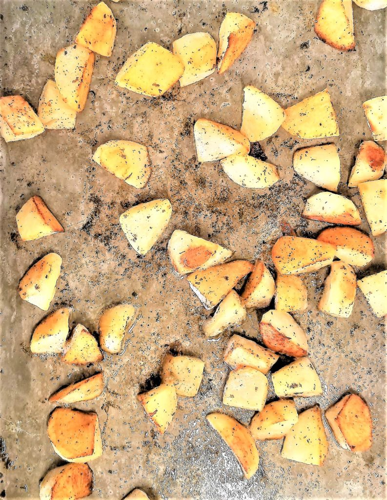 simple oven potatoes