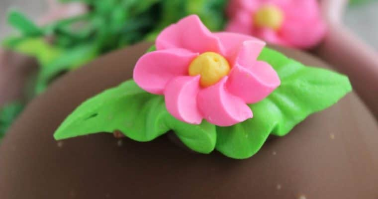 Chocolate Dipped Easter Eggs (Naturally Gluten Free)
