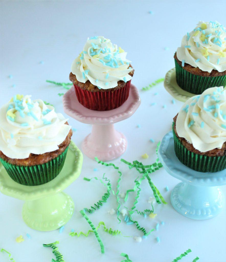 gluten free carrot cupcakes