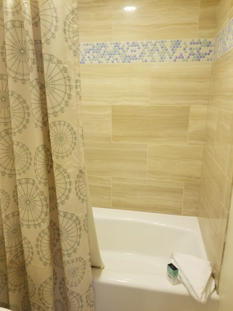 disney boardwalk tub and shower