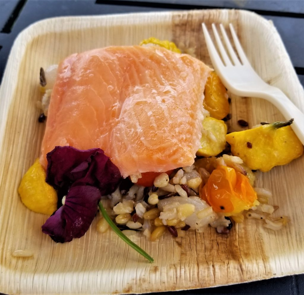 epcot flower and garden festival poached salmon