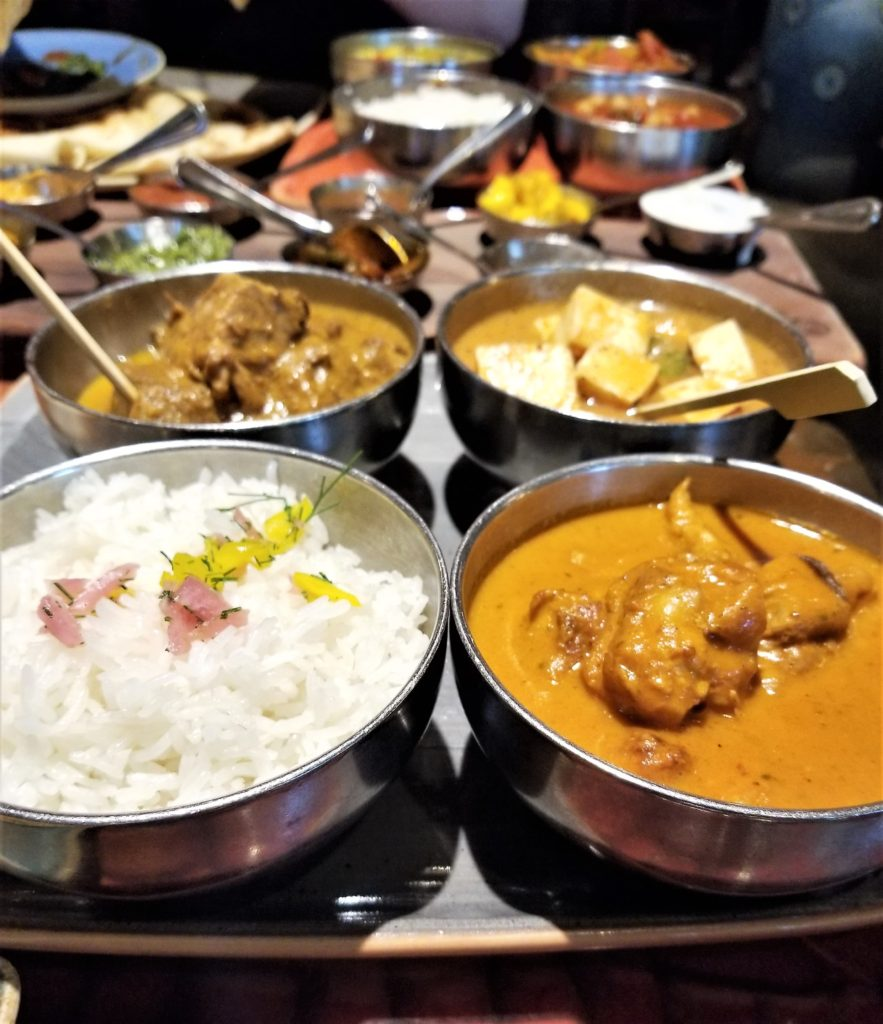gluten free potjie inspired meal at sanaa at disney world