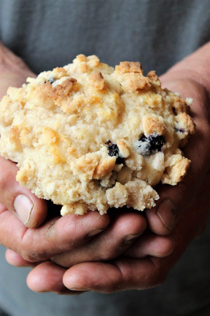 gluten free bakery style blueberry muffins