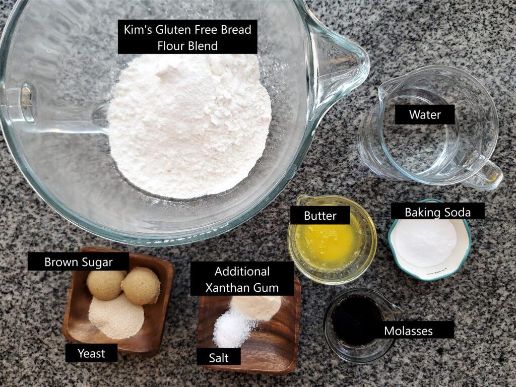 ingredients on granite countertop