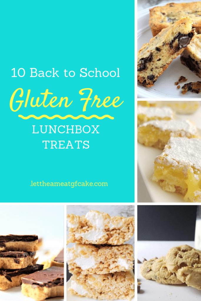 back to school gluten free lunchbox treats