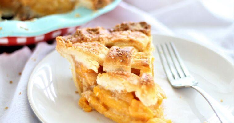 Perfect Gluten Free Peach Pie