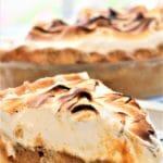 slice of gluten free sweet potato pie