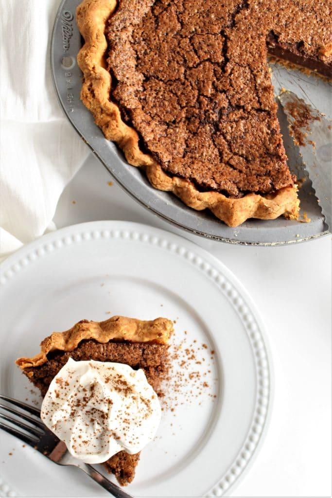 gluten free chocolate chess pie