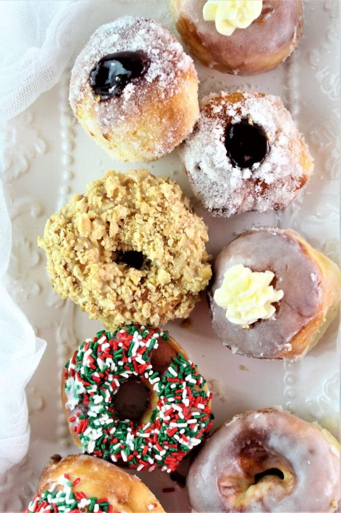air fried gluten free yeast donuts