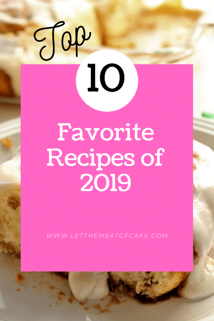 top 10 favorite recipes of 2019