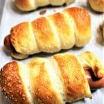 gluten free pretzel dogs