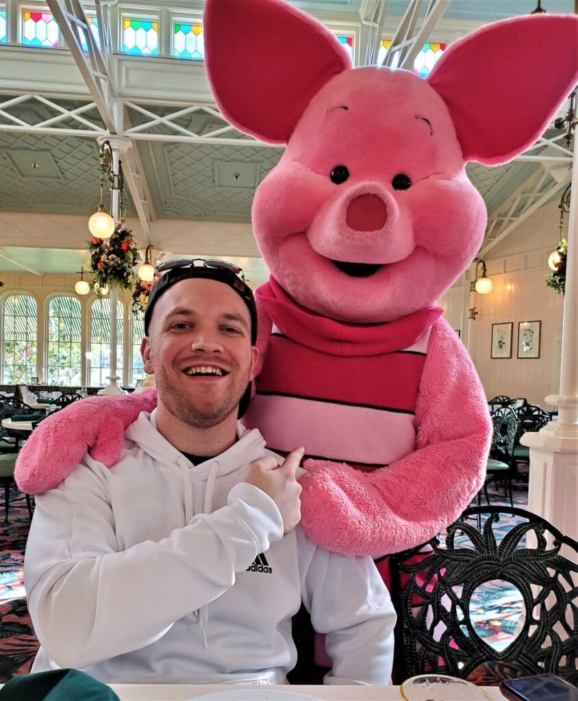 piglet and jimmy at the crystal palace