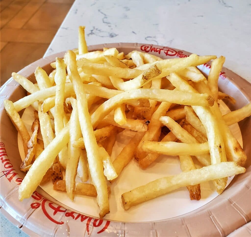 french fries from gasparilla island grill