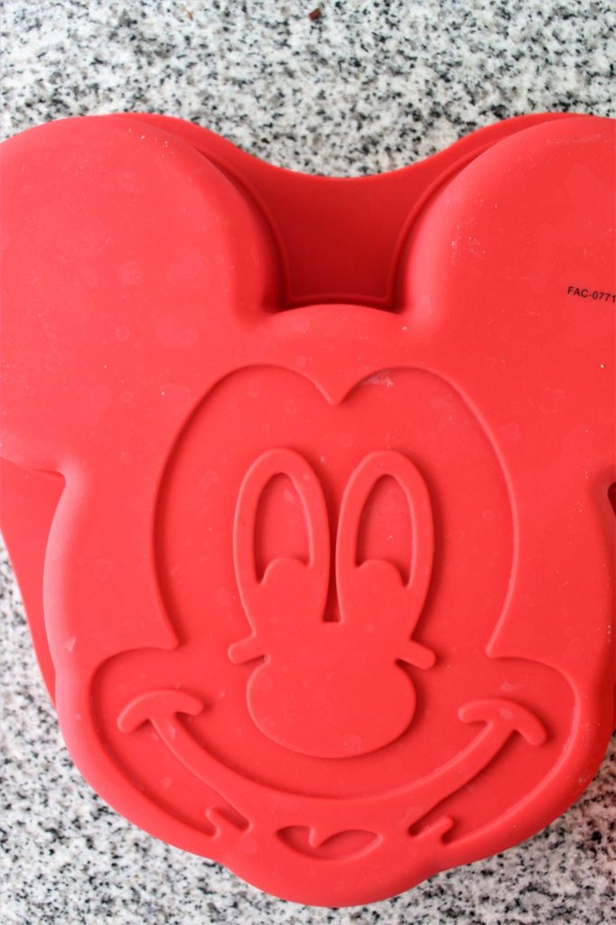 mickey mouse silicone cake mold