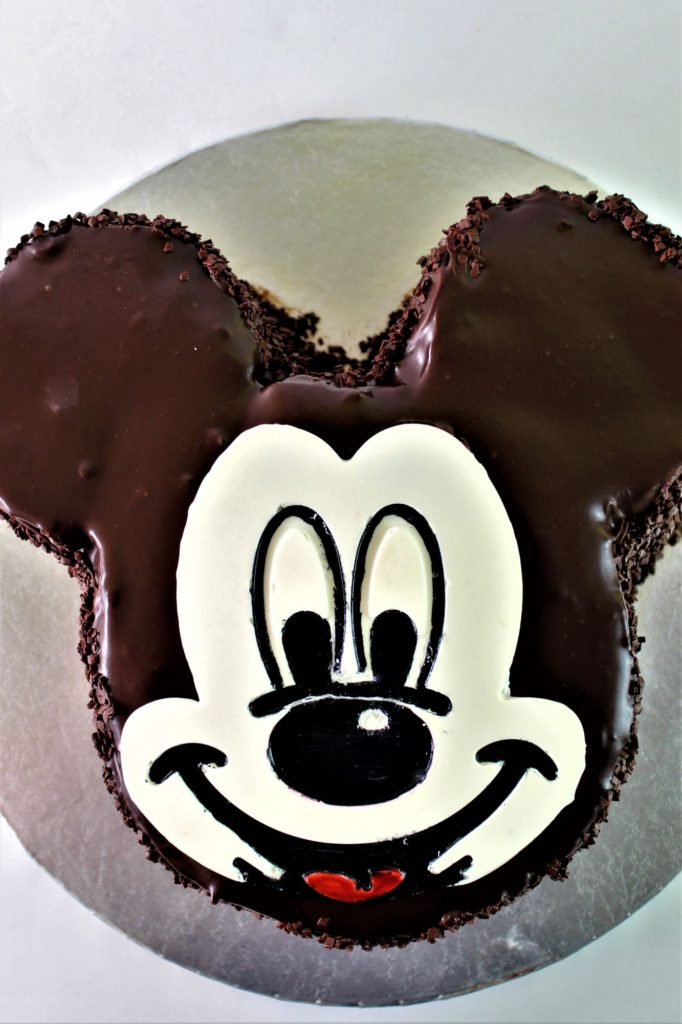 gluten free mickey mouse chocolate cake