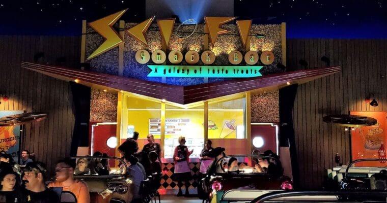 Sci-Fi Dine-In Theater Gluten Free Review