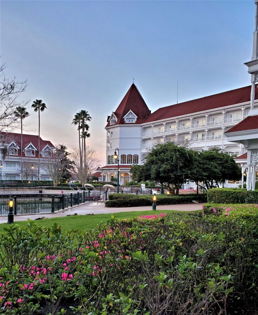 grand floridian cafe from the patio