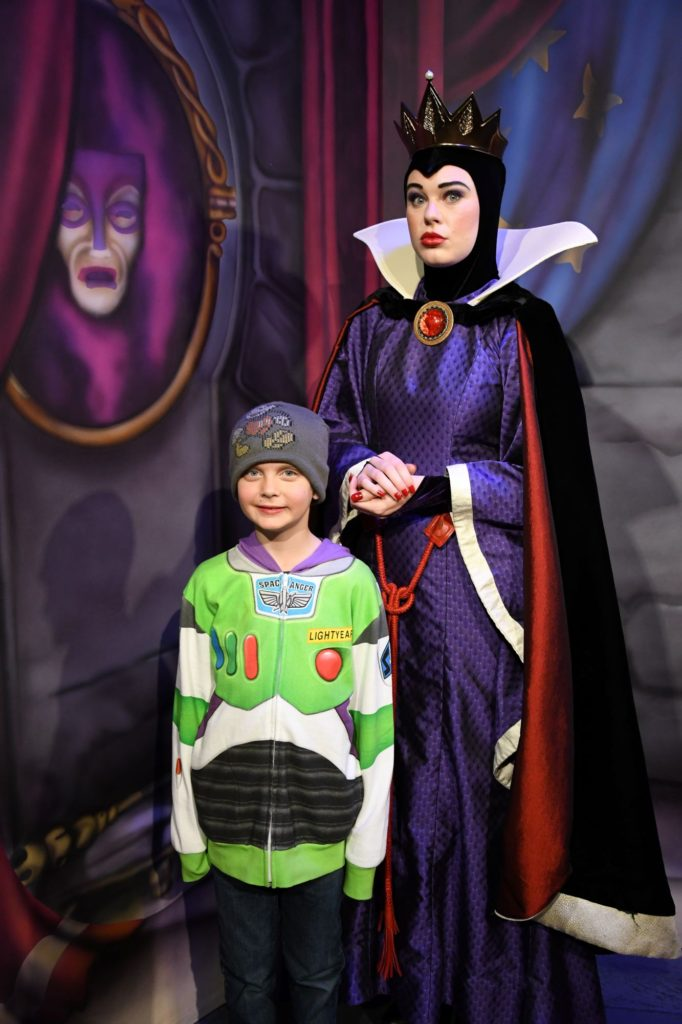 chase with the evil queen