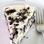 slice of gluten free white chocolate torte