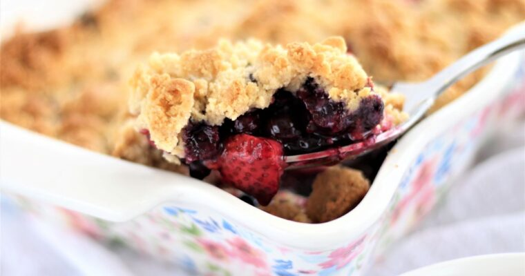 Gluten Free Any Fruit Crumble