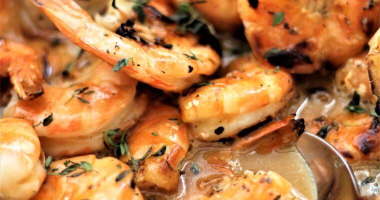 Mr. Story's Shrimp (The BEST Grilled Shrimp!)